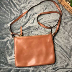Old Navy Faux Leather Crossbody purse